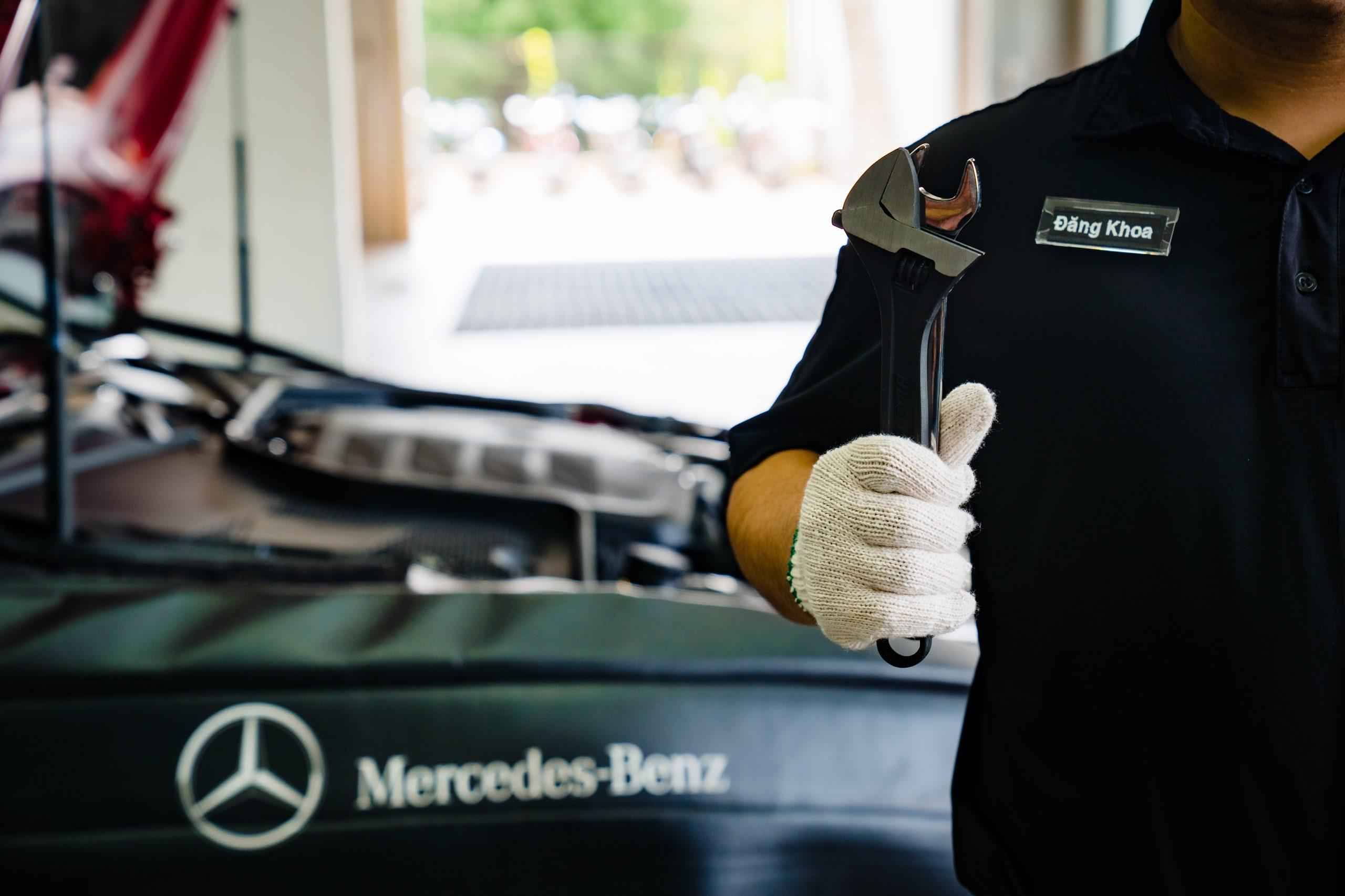 lịch bảo dưỡng ô tô mercedes định kỳ